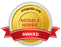 BlogAdda Notable Newbie 2015